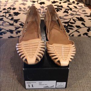 J Crew - Leather Hurache Sandals - size 9